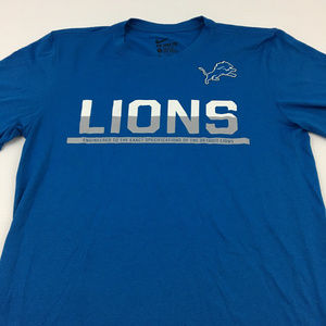 Nike Dri Fit Tee Lions Graphic Active T Shirt S